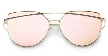 6. Oversized Mirrored Sunnies