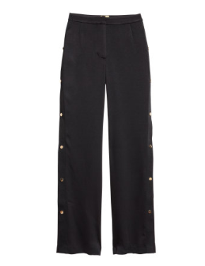 H&M Pants with Snap Fasteners