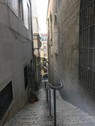 Alfama alleys