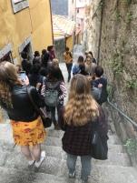 On the walking tour through the Old Town