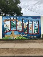 Postcard mural