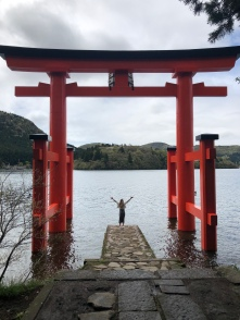 Hakone Shrine Torii